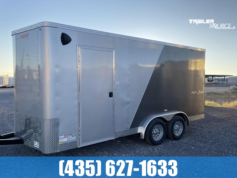 2022 Mirage Trailers 7.5x16 TA2 Xpres Side x Side Pkg. Enclosed Cargo Trailer