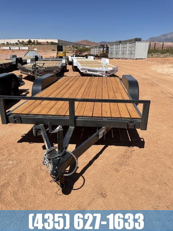 2021 Workhorse Trailers 7 x 14 Car Hauler Straight Deck Utility Trailer