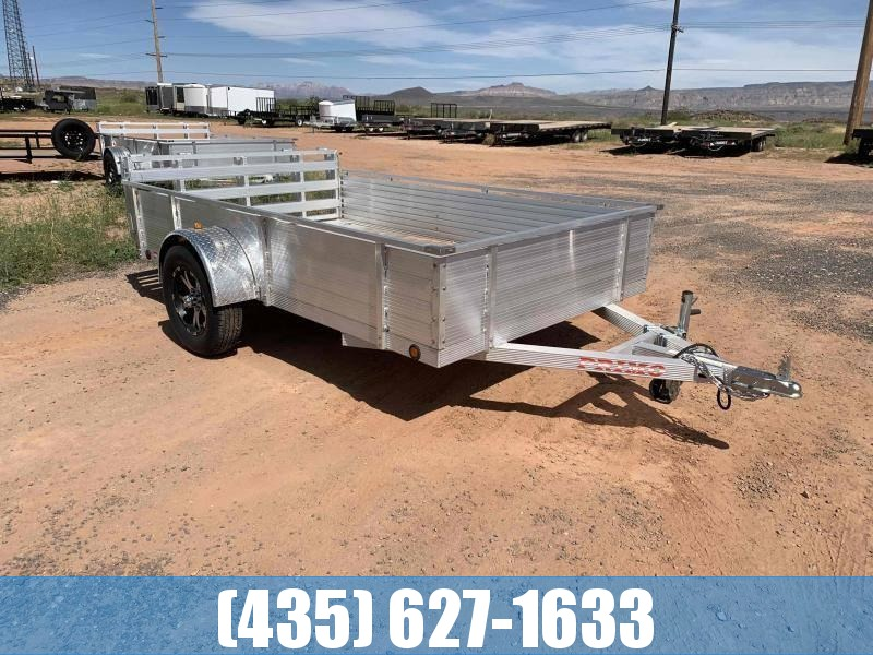 Primo 6X10 Aluminum Utility with Solid Sides