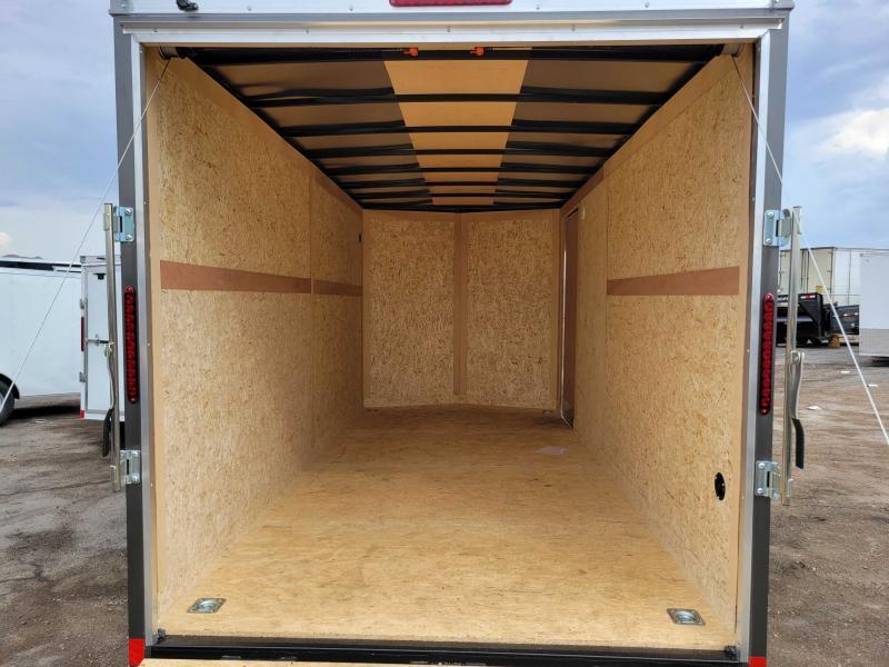 NEW 2022 7x16 AMERICAN HAULER Deluxe Enclosed Cargo Trailer