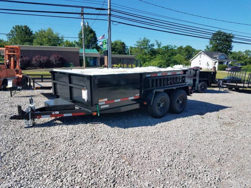 Carry-On 7X14 DUMPLP14K-24HS Dump Trailer