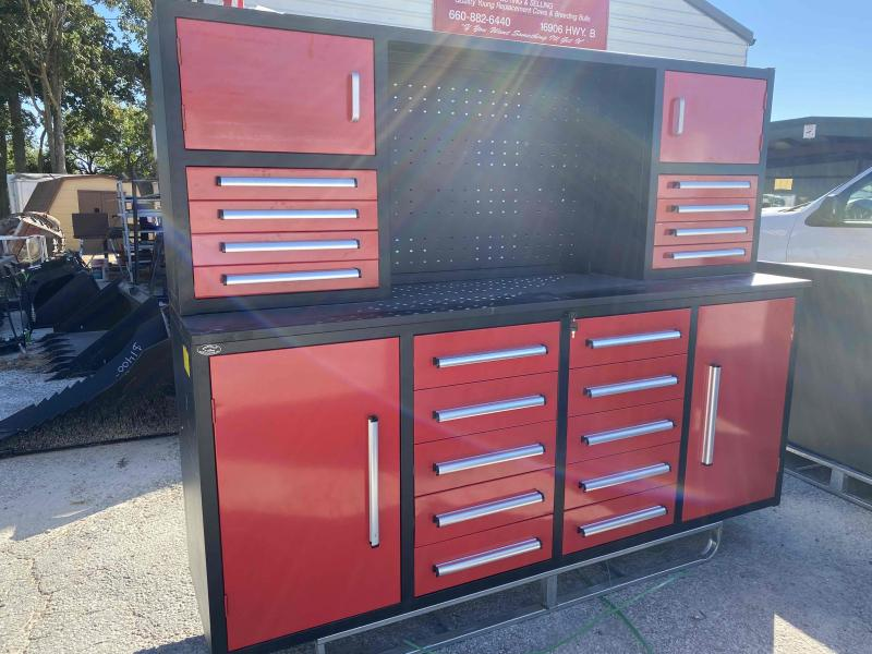 7' Toolbox w/ Cabinet