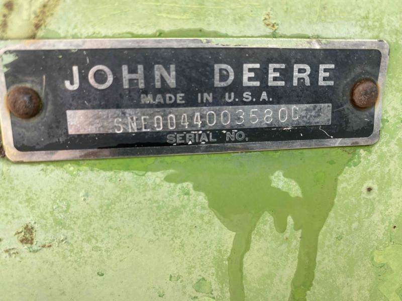 John Deere Spreader