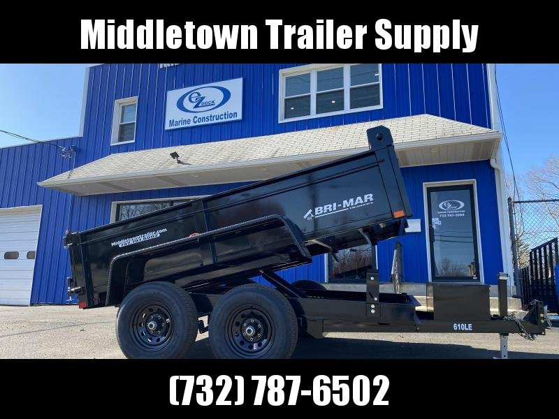 2021 Bri-Mar DT610LP-LE-10 Low Side Dump Trailer