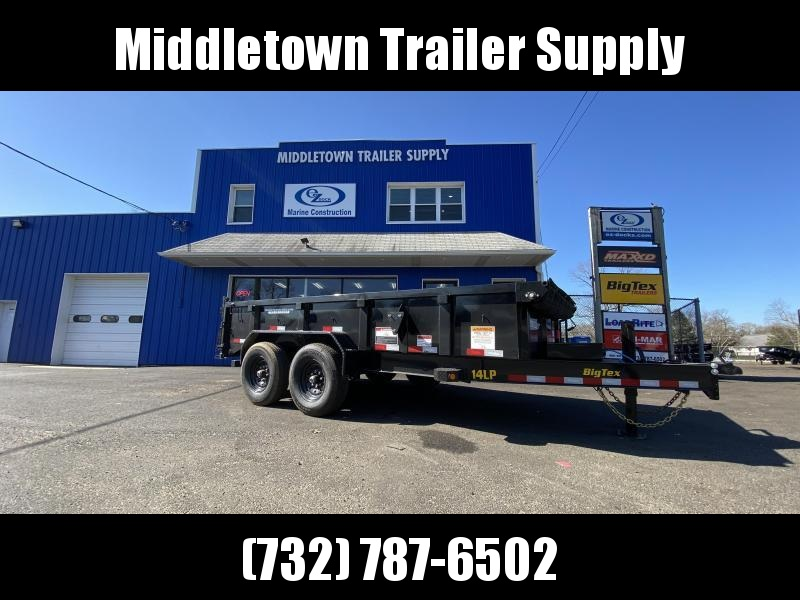 2021 Big Tex Trailers 14LP-12 Low Side Dump Trailer