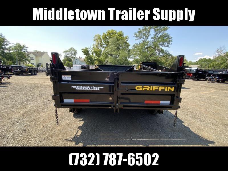 2021 Griffin GT-712 Low Side Dump Trailer