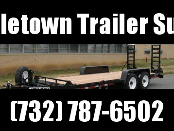 2022 BWISE EH20-16HD Equipment Trailer