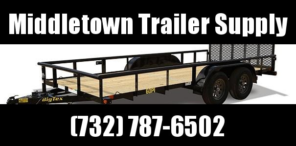 "2021 Big Tex Trailers 77""x12' Utility Trailer"