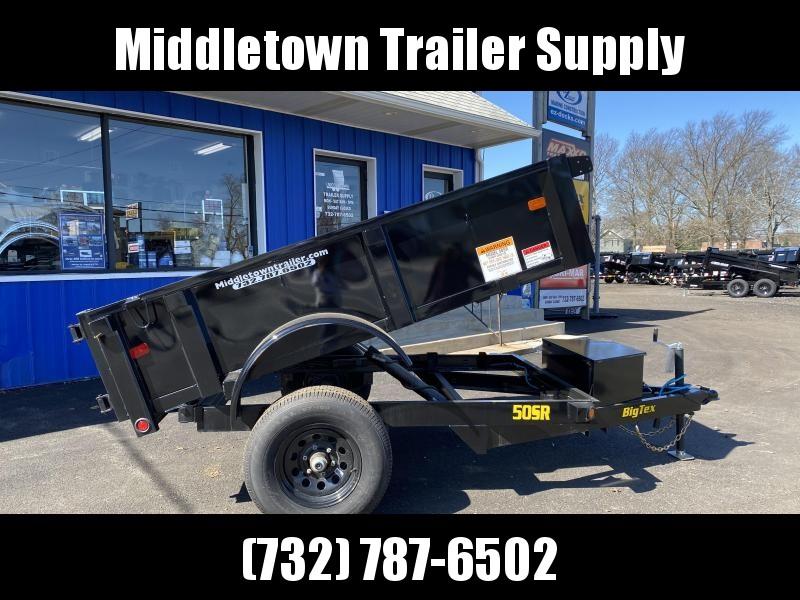 2022 Big Tex Trailers 50SR-08-5WDD Low Side Dump Trailer