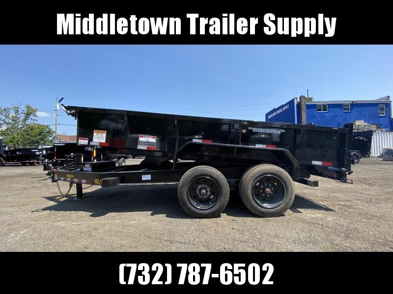 2022 Big Tex Trailers 16LP-16 Low Side Dump Trailer