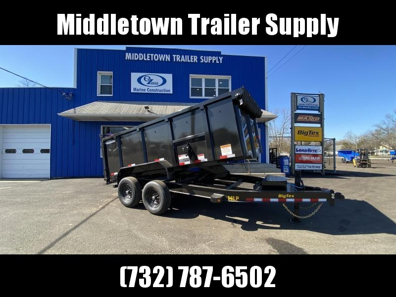 2022 Big Tex Trailers 14LP-14 High Side Dump Trailer