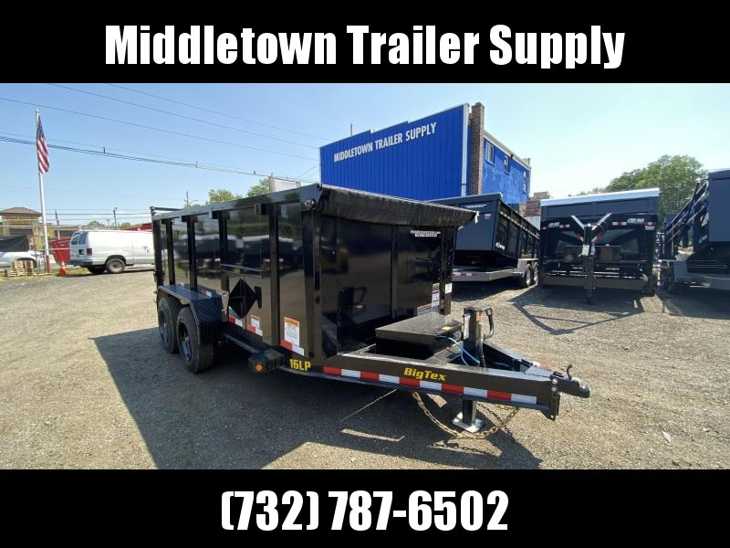 2022 Big Tex Trailers 16LP-16 High Side Dump Trailer