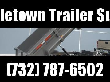 2022 Bri-Mar DT610LP-10 Low Side Dump Trailer
