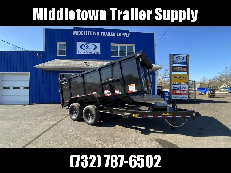 2021 Big Tex Trailers 14LP-14 High Side Dump Trailer