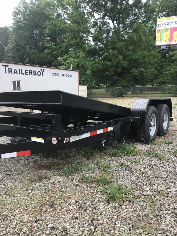 2021 Sure-Trac st8216tbe Equipment Trailer