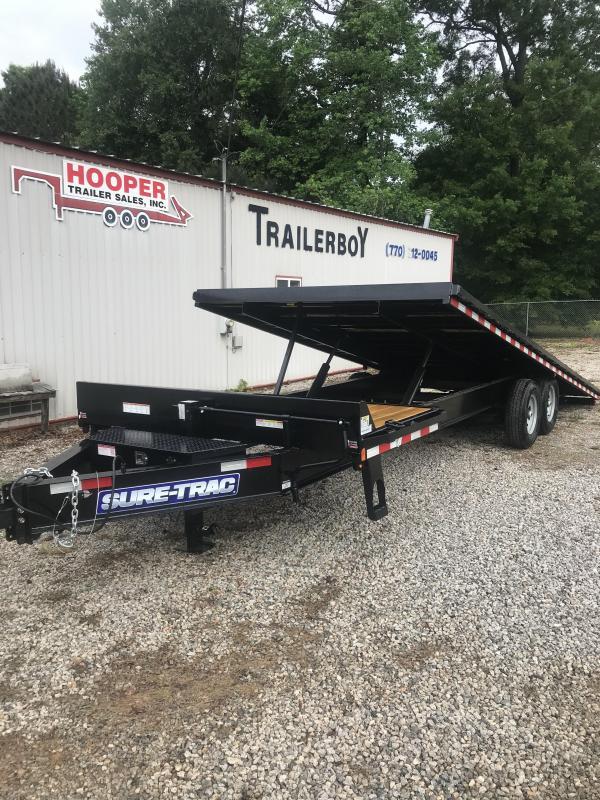 2021 Sure-Trac st102224dot2a-b-150 Equipment Trailer