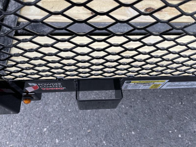 """Sure Trac 6 x 12 Tube Top Utility with 12"""" Mesh"""