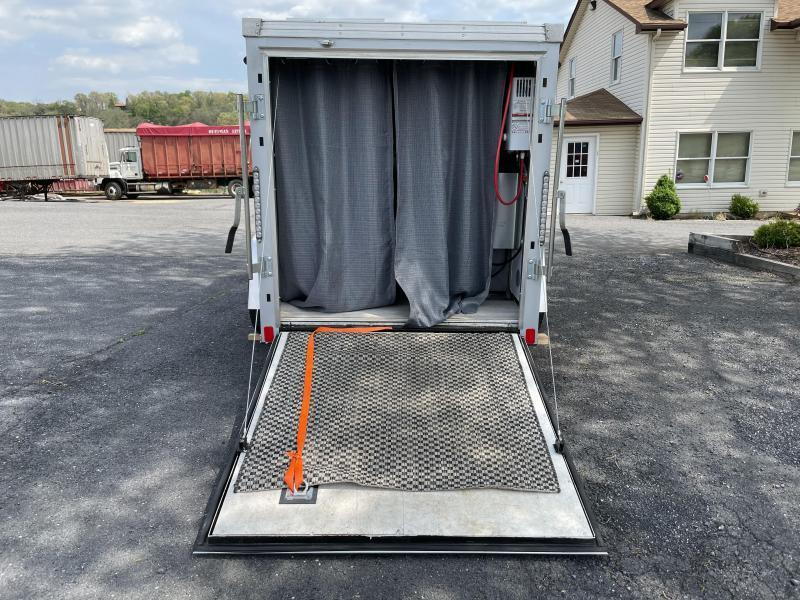 United Trailers Camper/Hunting Cabin on wheels Enclosed Cargo Trailer