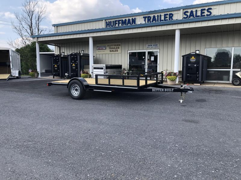"""Better Built 83"""" x 14' Utility Trailer with Ramp Rails"""