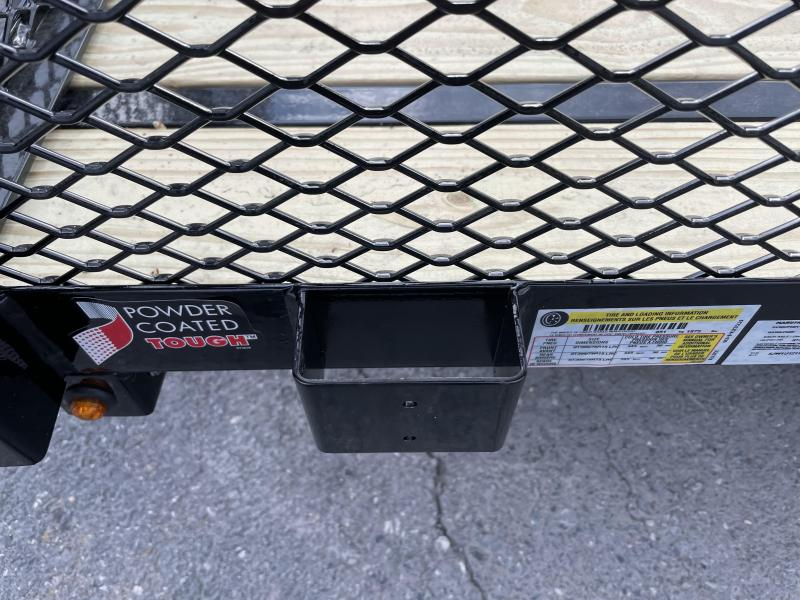 """Sure Trac 6 x 12 Tube Top Utility with 24"""" Mesh Sides"""