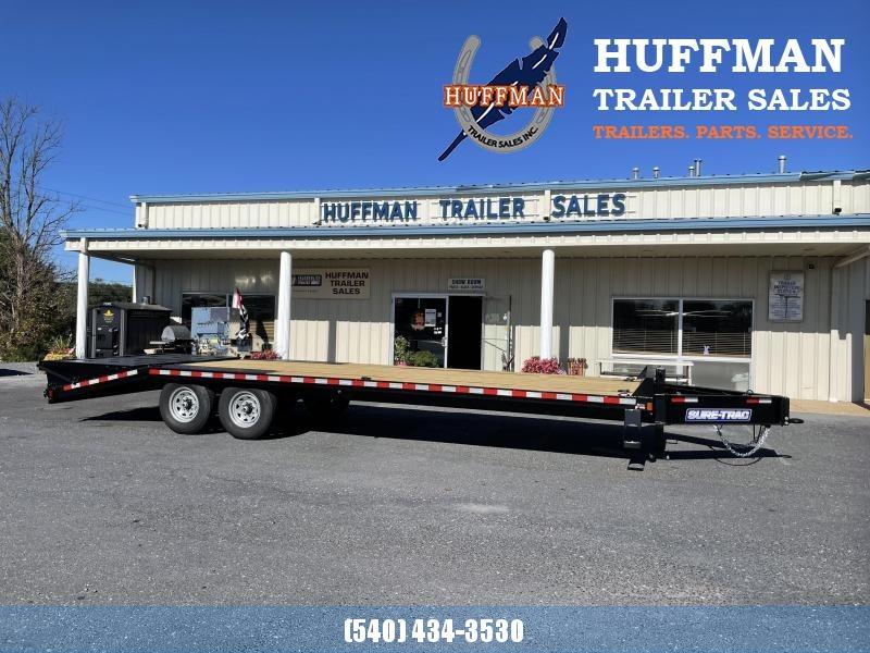 2021 Sure-Trac 20+5 Bumper Pull Equipment Trailer