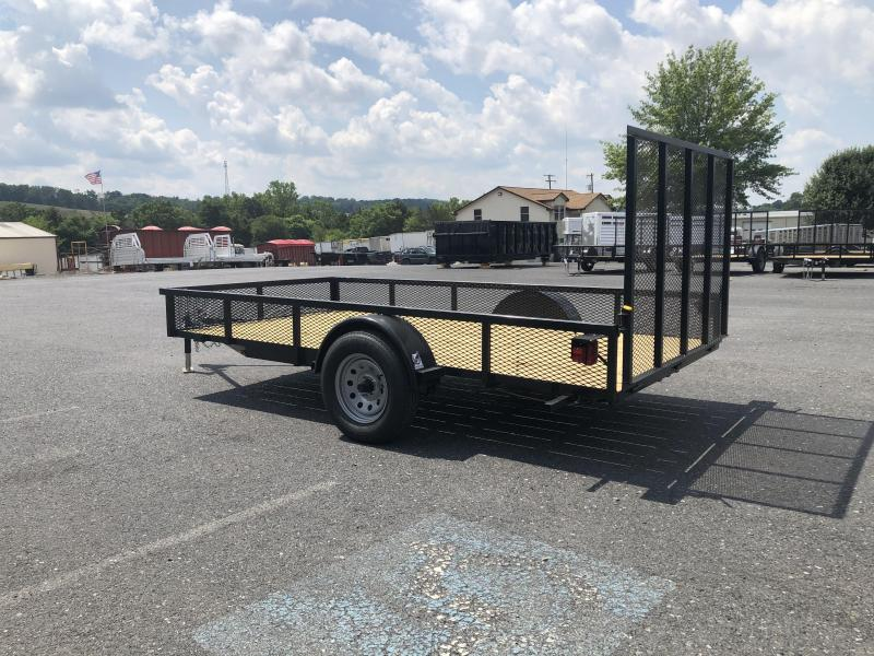 Better Built 6 x 12 Express Utility Trailer with Mesh Sides