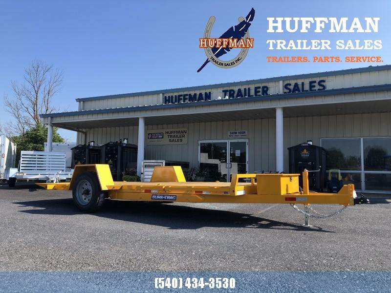 Sure-Trac 7 x 12+4 10K Tilt Bed Equipment Trailer