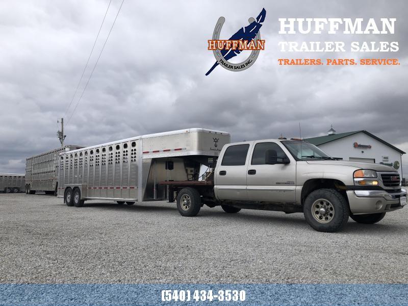 Wilson 7 x 24 14K Livestock Trailer