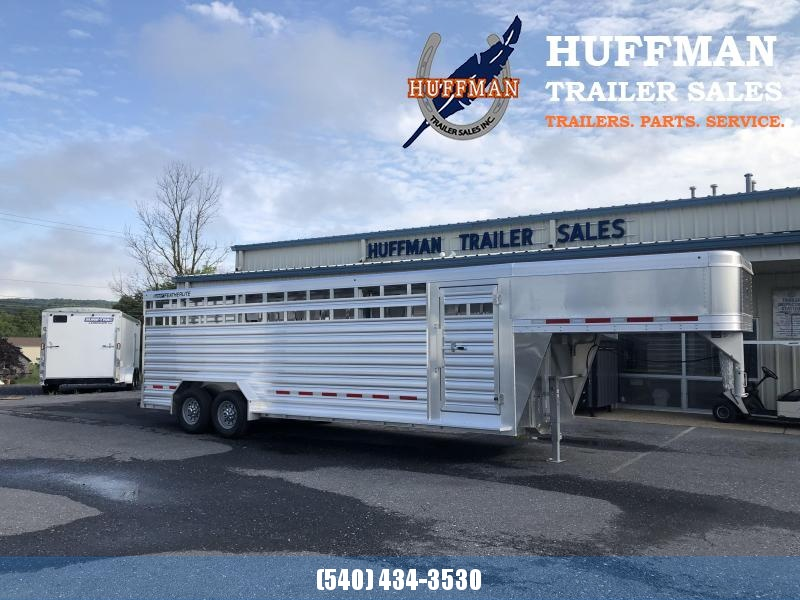 Featherlite 7 x 24 Livestock Trailer