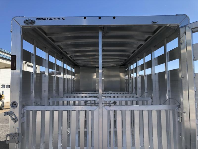 Featherlite 16' Stock Trailer with Pen System