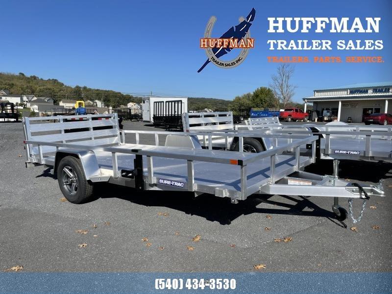 2022 Sure-Trac 7x14 Aluminum Utility Trailer