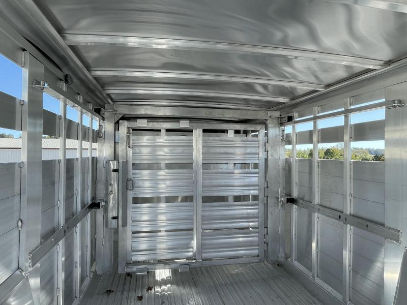 Featherlite 20' Stock Trailer w/ Moveable Gate