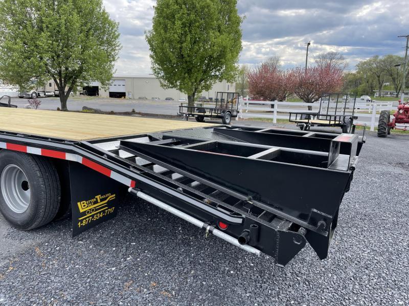 Better Built 21'+5' 10 Ton Equipment Trailer