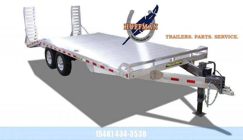 Aluma DeckOver 1020 Flatbed Trailer
