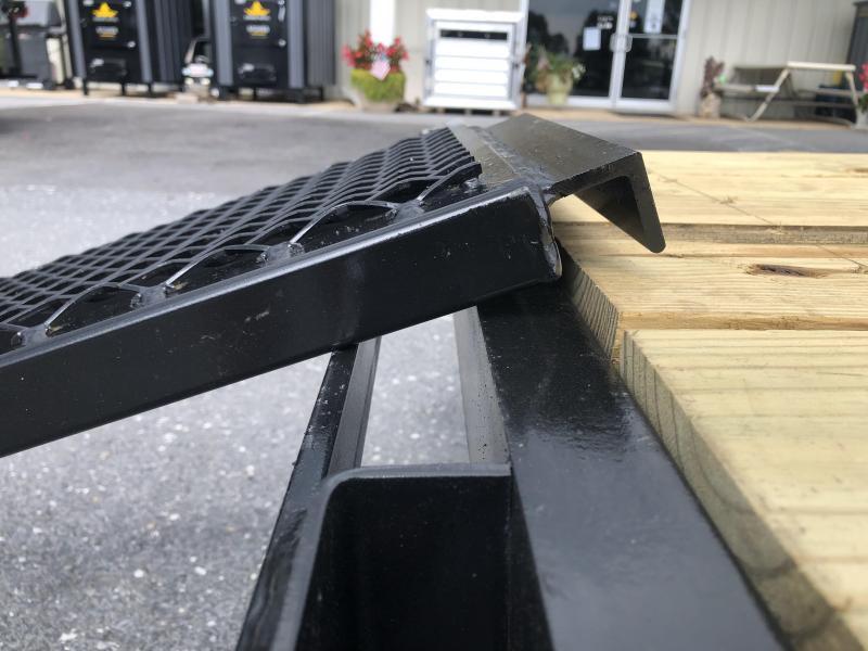 Better Built 7 x 12 Utility Trailer w/ Ramp Rails