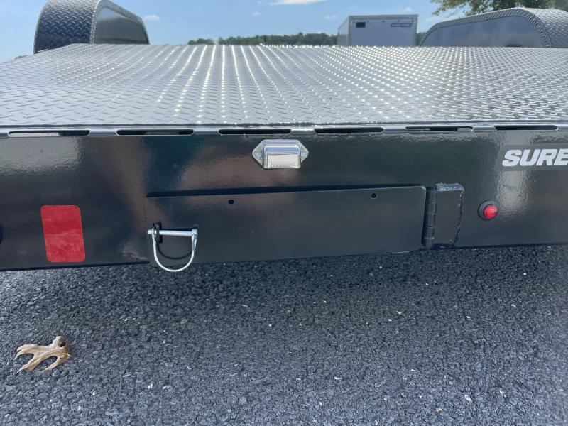 2021 Sure-Trac 16+2 Steel Deck Car / Racing Trailer