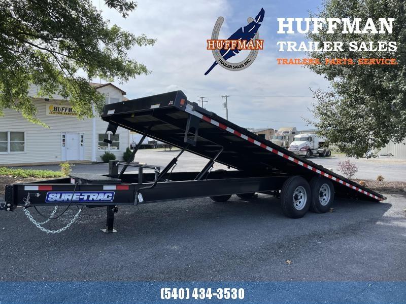 2021 Sure-Trac 22' Deckover Tilt Equipment Trailer