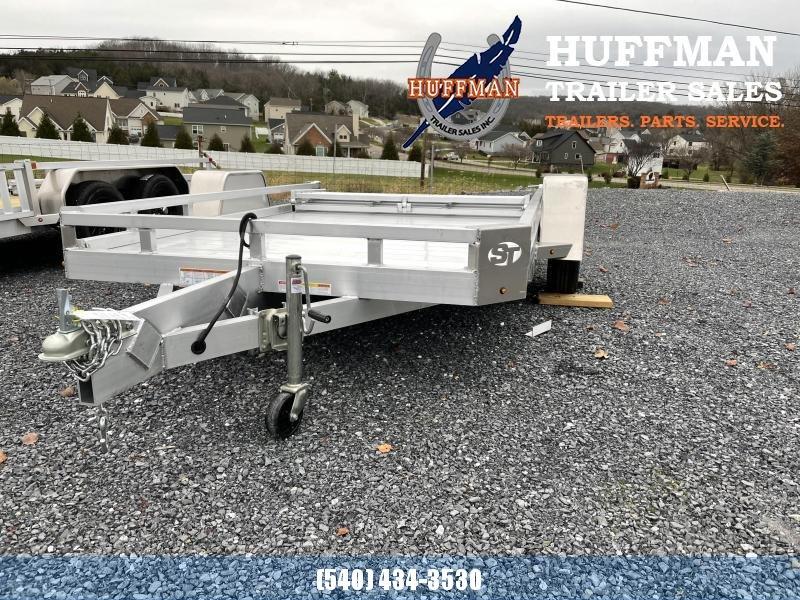 Sure Trac 10' Aluminum Utility Trailer