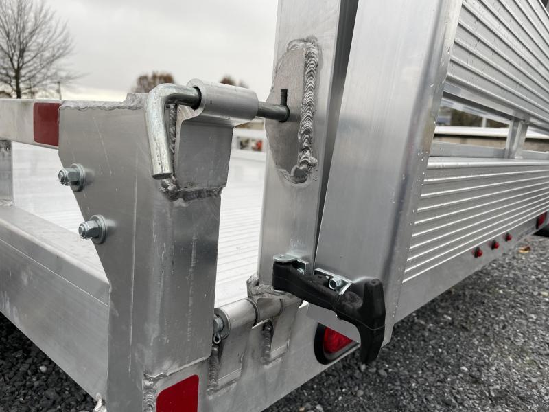 Sure Trac 12' Aluminum Utility Trailer