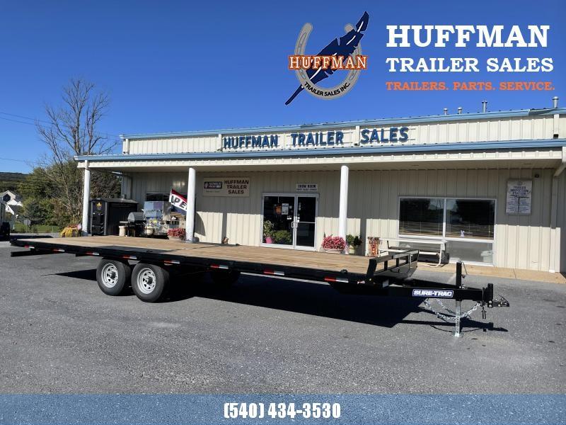 2021 Sure-Trac 24' Flat Equipment Trailer