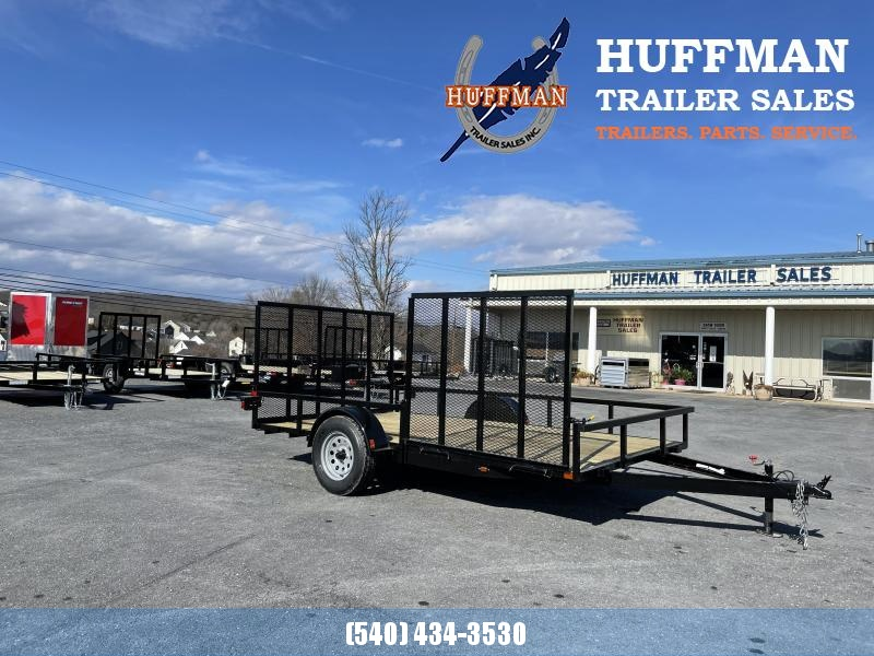 Better Built 7 x 12 Utility Trailer with 5' Side Gate