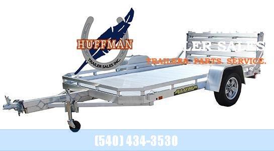 Aluma 7710H Bi Folding Tailgate Utility Trailer-2021