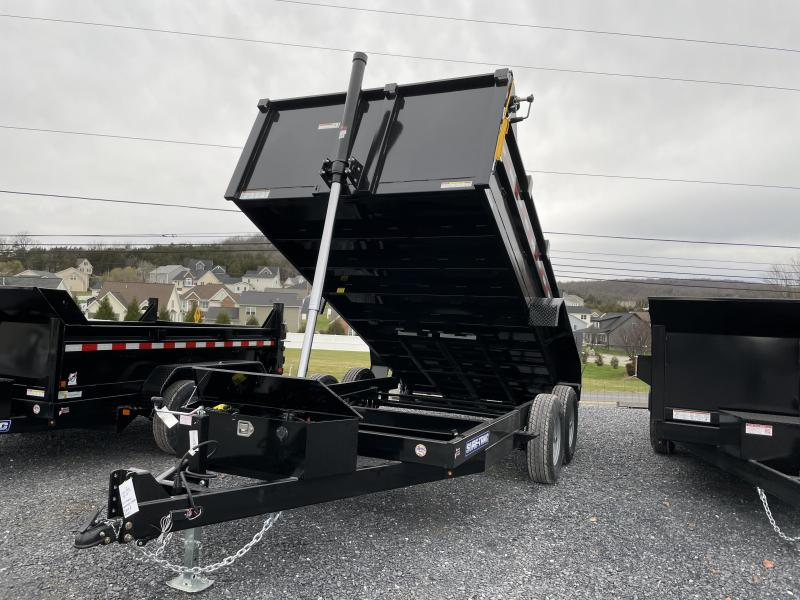 Sure Trac 14' Telescopic Dump Trailer