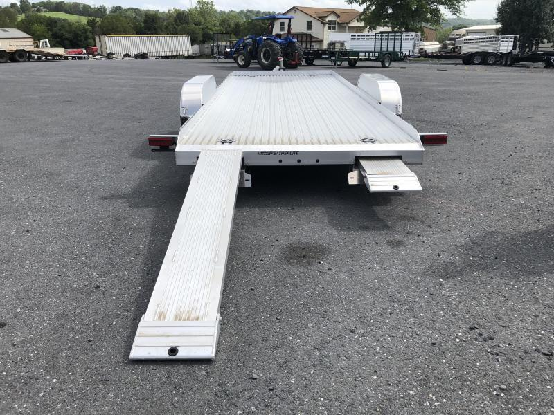Featherlite 20ft Car Trailer with Skid Loader Package