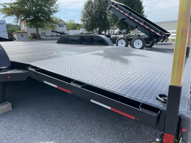 2021 Sure-Trac 16+4 Steel Deck Car / Racing Trailer