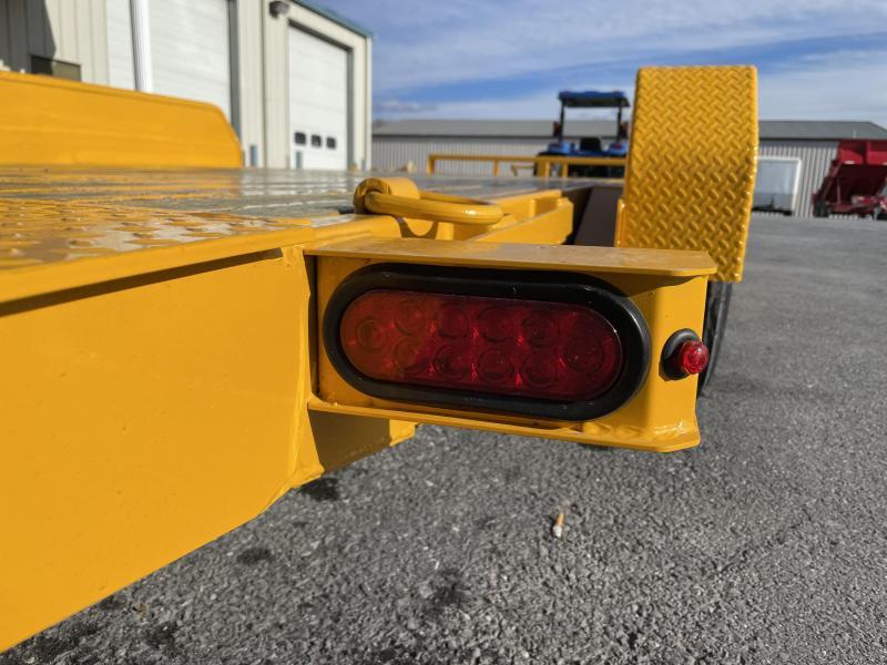 Sure Trac 18+4 Tilt Bed Equipment Trailer YELLOW