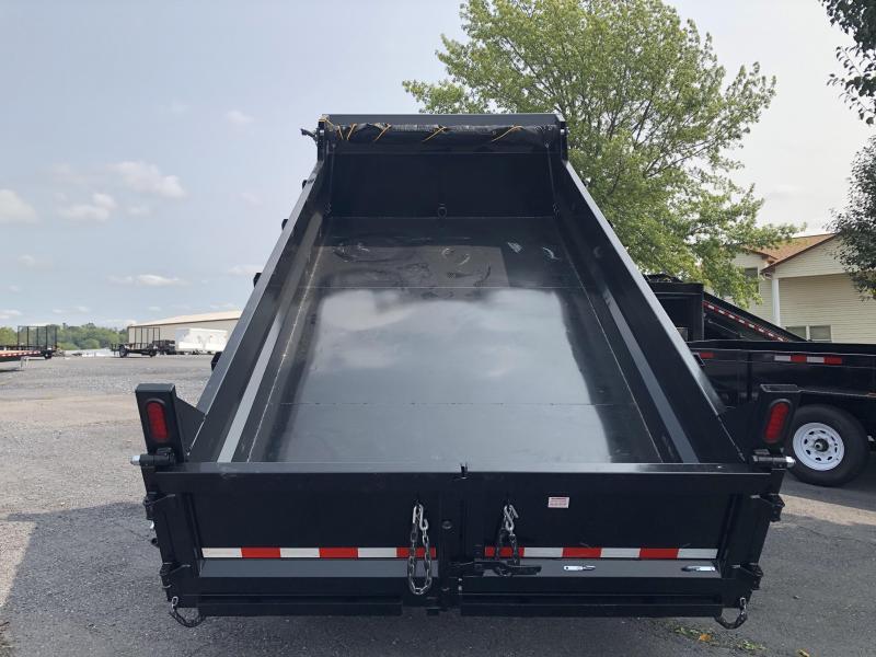 Sure-Trac 7 x 12 14K Heavy Duty Low Profile Dump Trailer