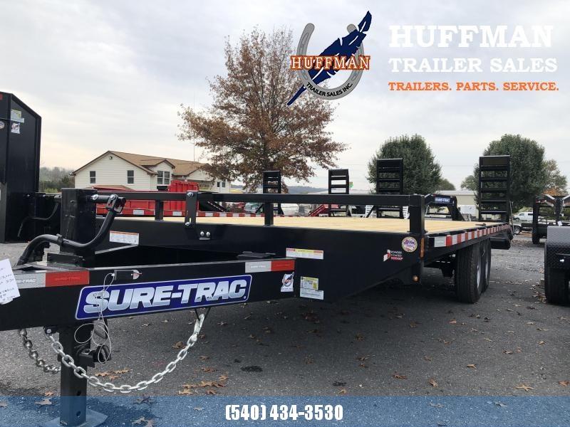Sure-Trac 18+4 15K Equipment Trailer