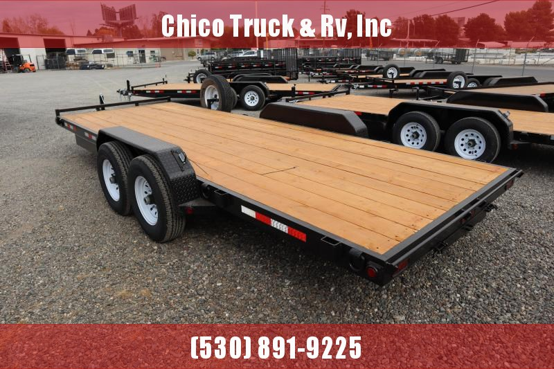2022 R and J Trailers Inc 20' HD EQUIPEMENT Equipment Trailer