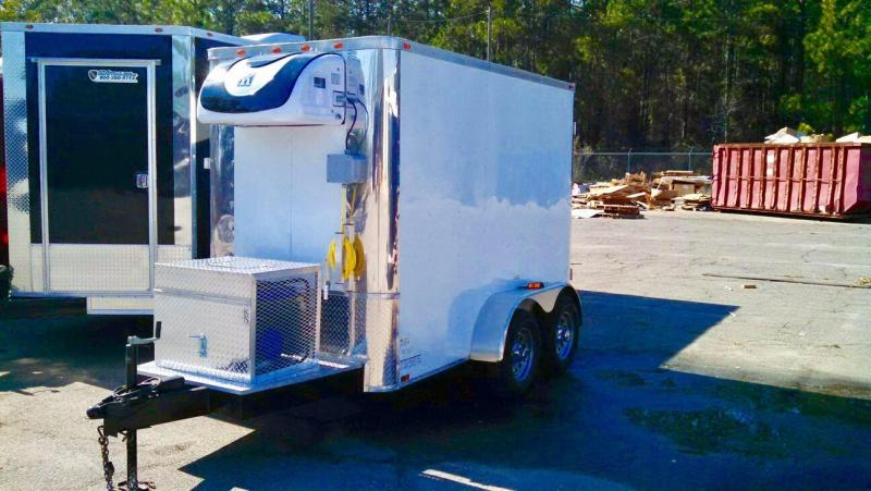 2021 SDG 5x10 Cooler Refrigerated Trailer